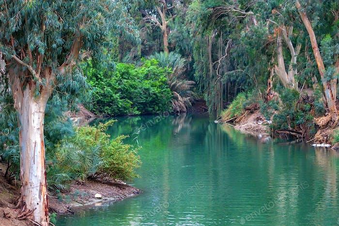Jordanien. Der Ort, wo Jesus getauft wurde