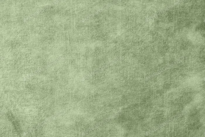Panoramic close-up texture of natural weave cloth in natural gray color.