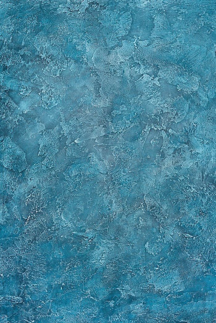 Old blue dark wall surface texture