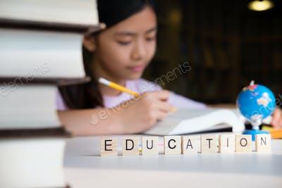 Education concept idea.