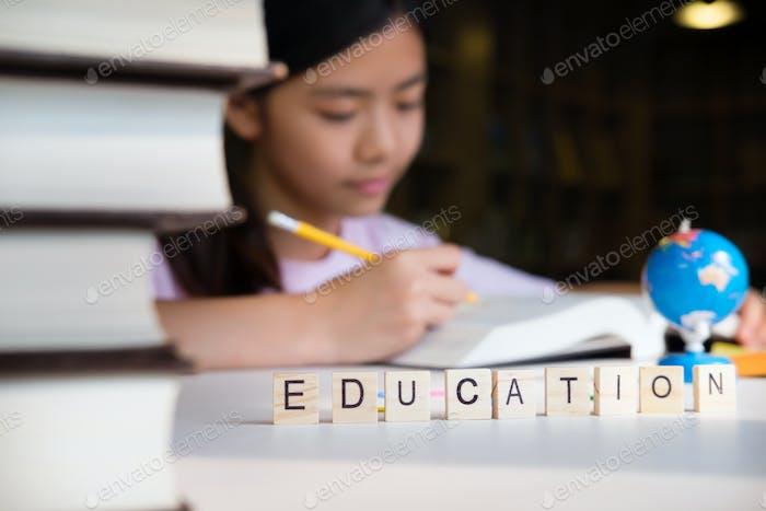 Idea de  concepto de educación.