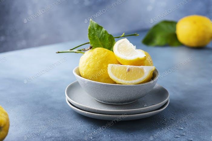 Fresh Sicilians lemons