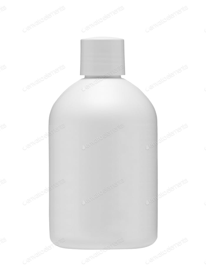 Medical bottle isolated on white