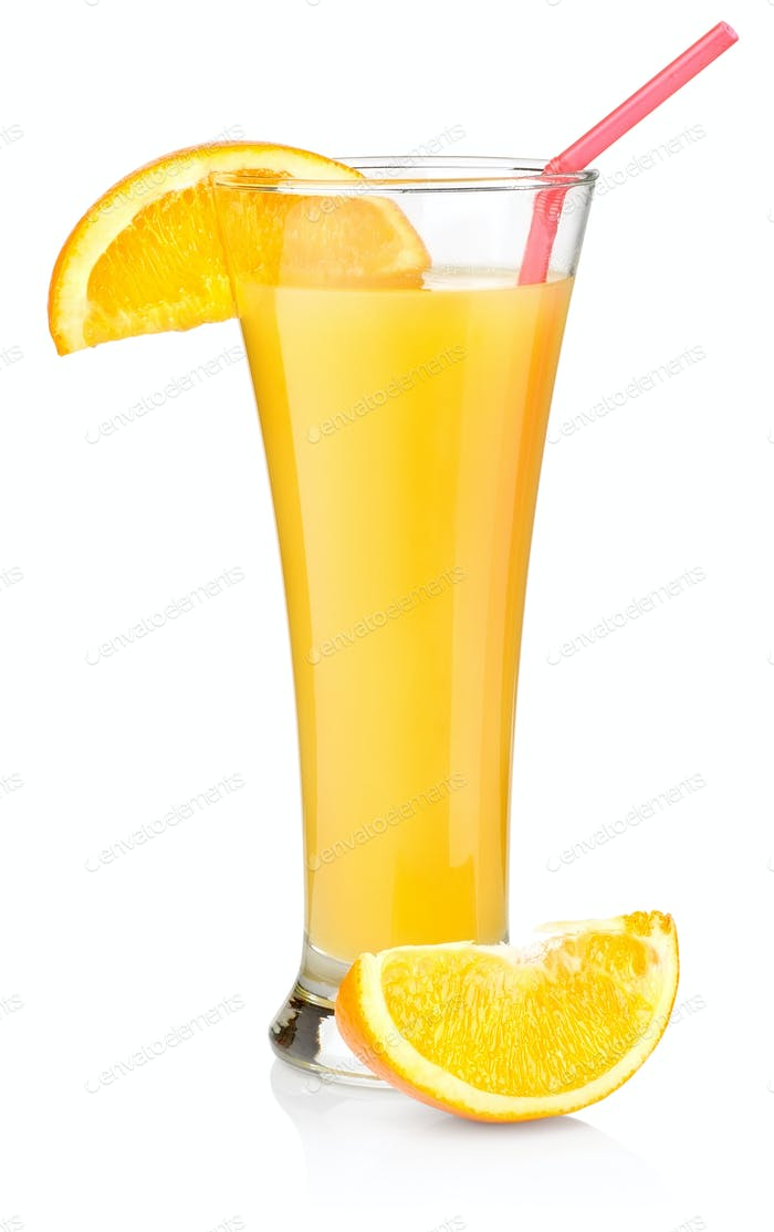 Thumbnail for Orange juice in a tall glass