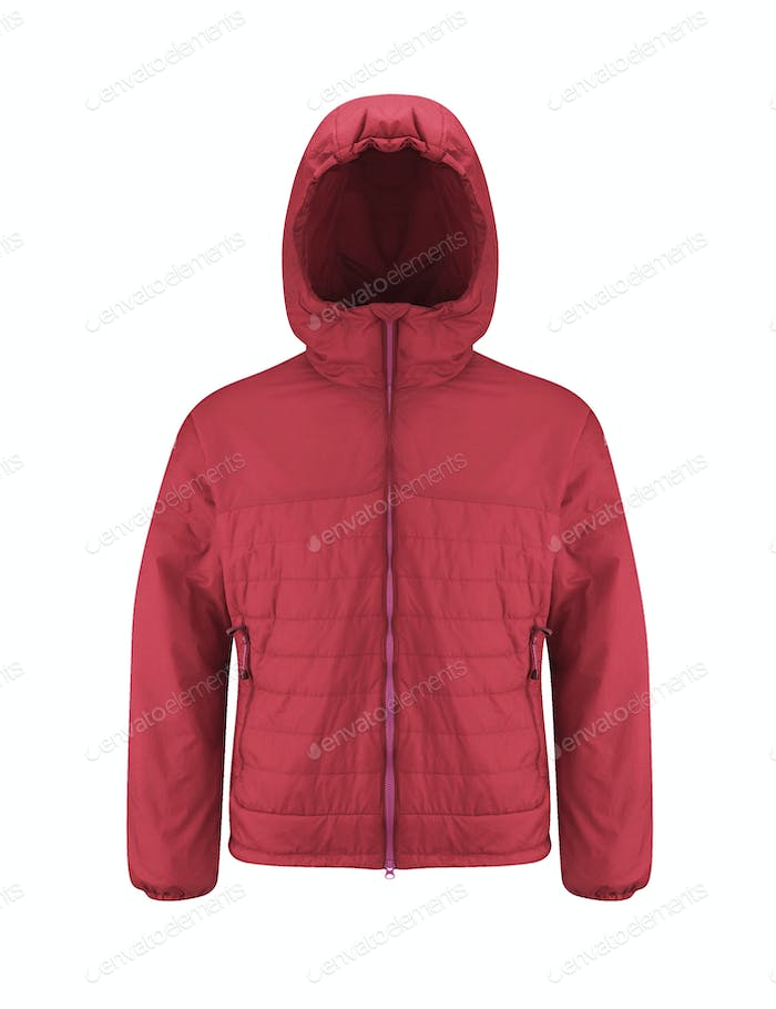Winter jacket isolated