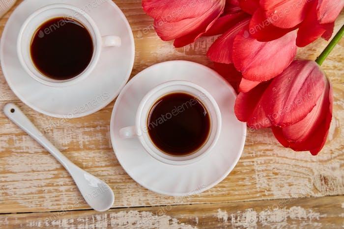 Desayuno y café
