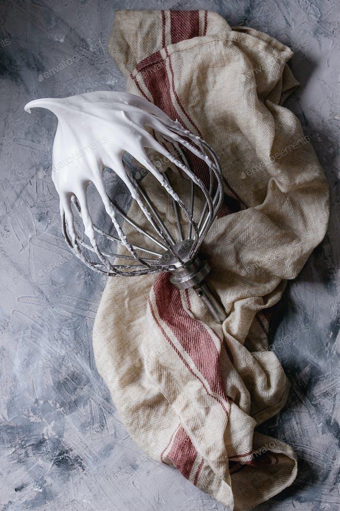 Process of cooking meringue