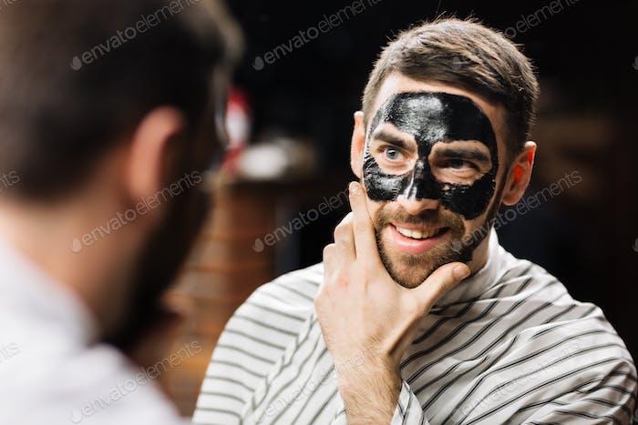 Peel-Off-Maske haben
