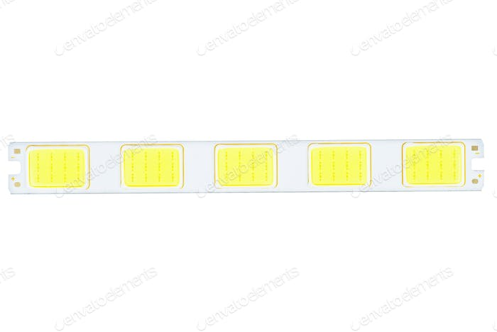 High power linear SMD white lighting LED assembly