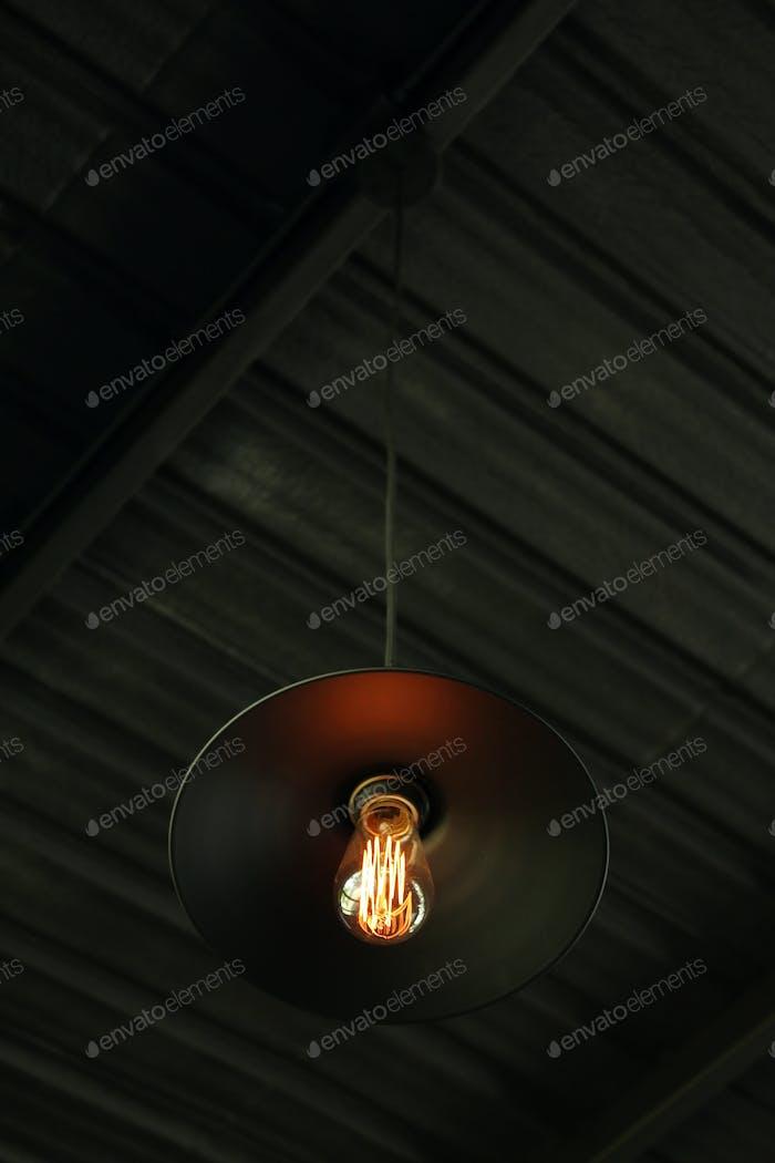Vintage light bulb