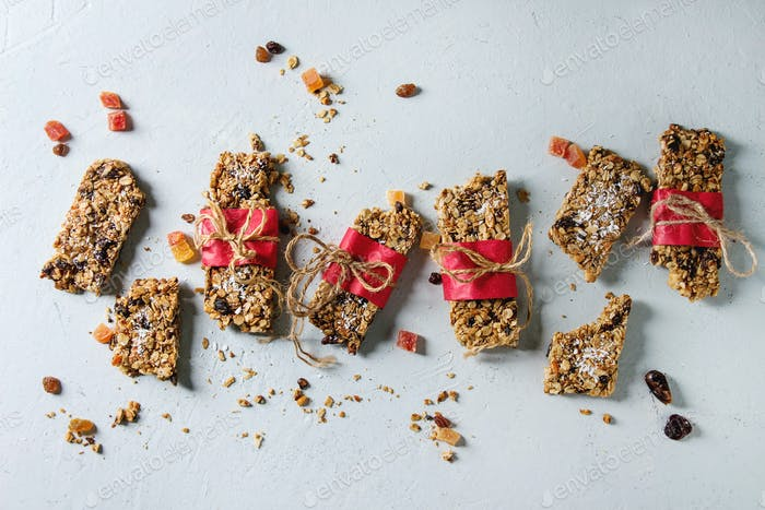 Energy granola bars