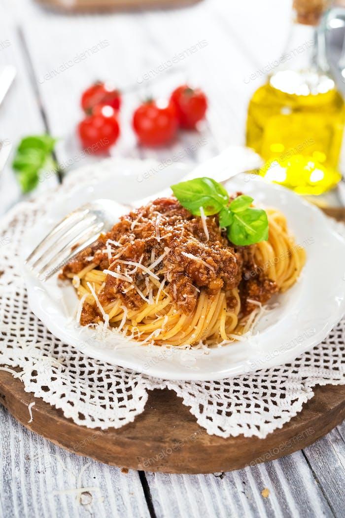Italian Classic Spaghetti Bolognese