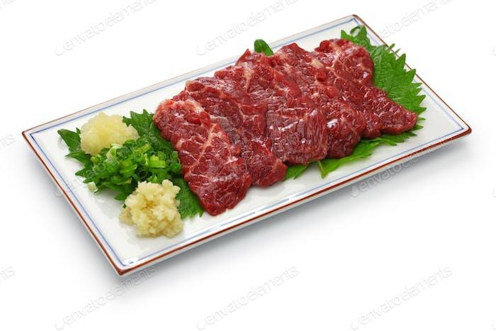 basashi, japanese cuisine