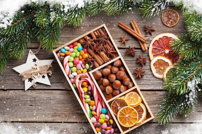 Christmas food decor
