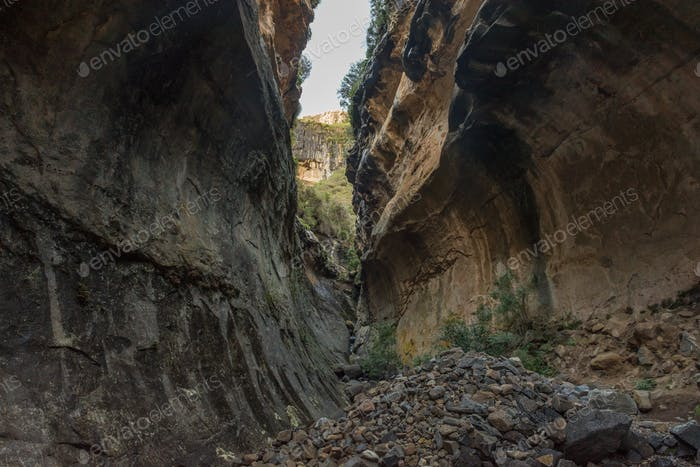 Echo Ravine at Golden Gate in the Free State Province