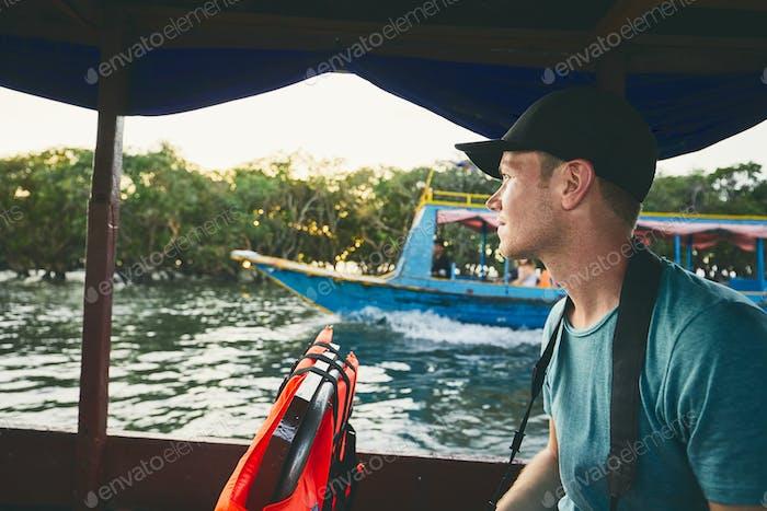 Adventure on the lake