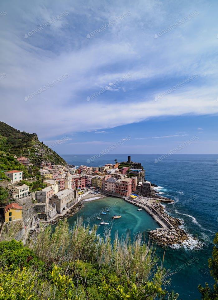 Vernazza in Cinque Terre, Italy