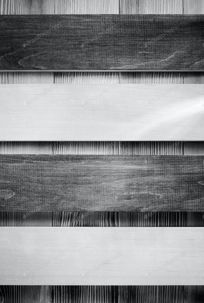 board panel on wood