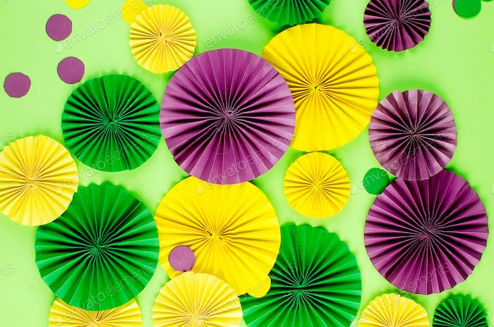 colorful background of mardi gras or carnival