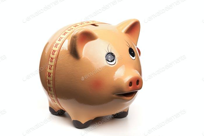 Tape Around Piggy