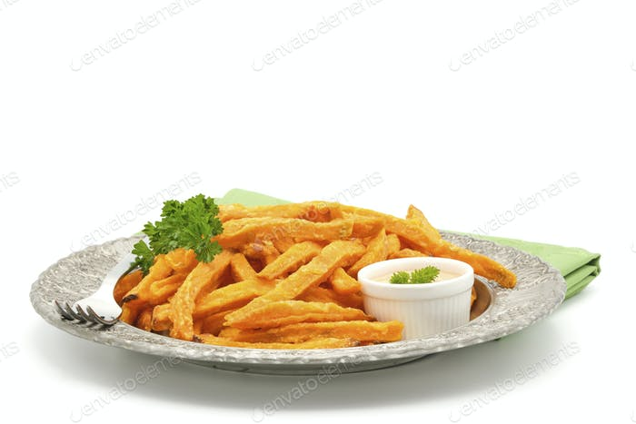 Sweet Potato Fries Plate