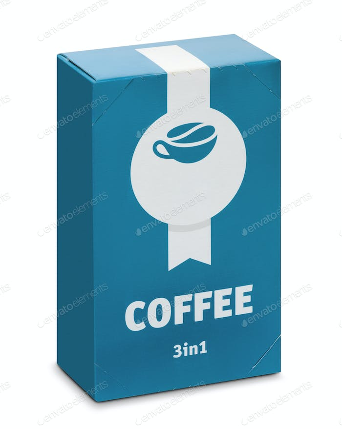 Packing of soluble coffee 3в1