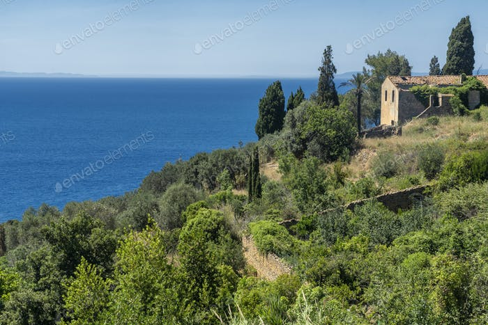 Monte Argentario, promontory on the Tirreno sea in Tuscany