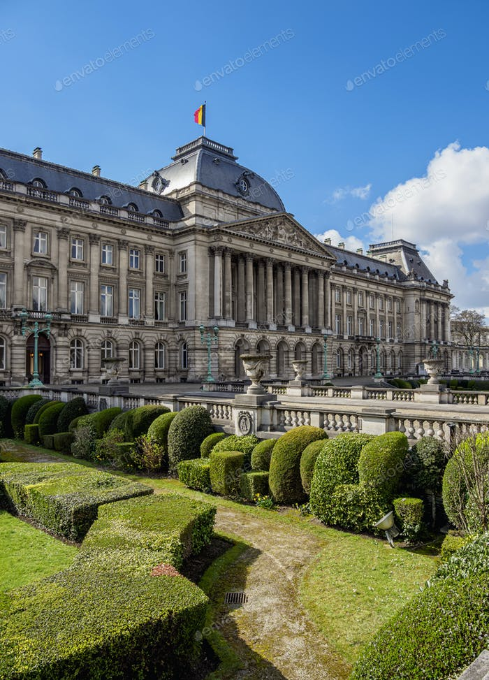 Brussels Royal Palace in Belgium