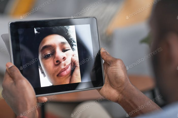 Video Call With Son