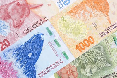 Argentine money, a background