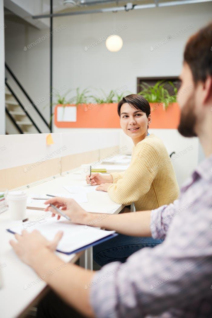Accountants in office