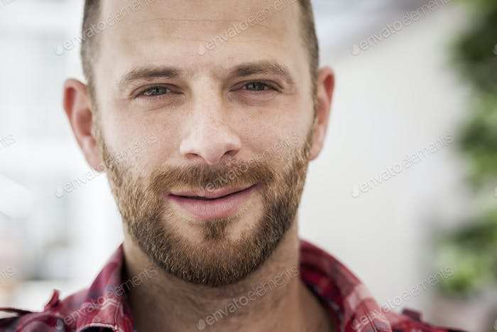 male portrait with beard