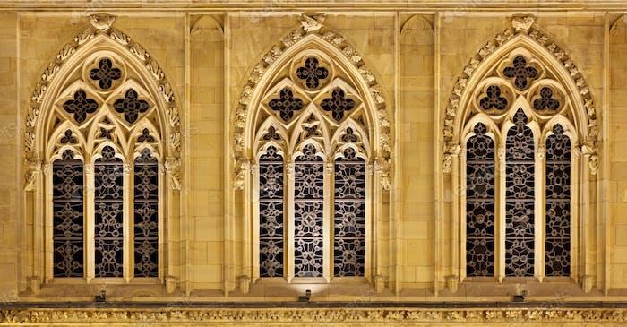Illuminated Gothic Windows, Germany