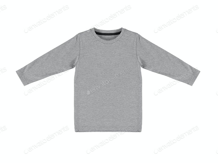Gray sweater isolated