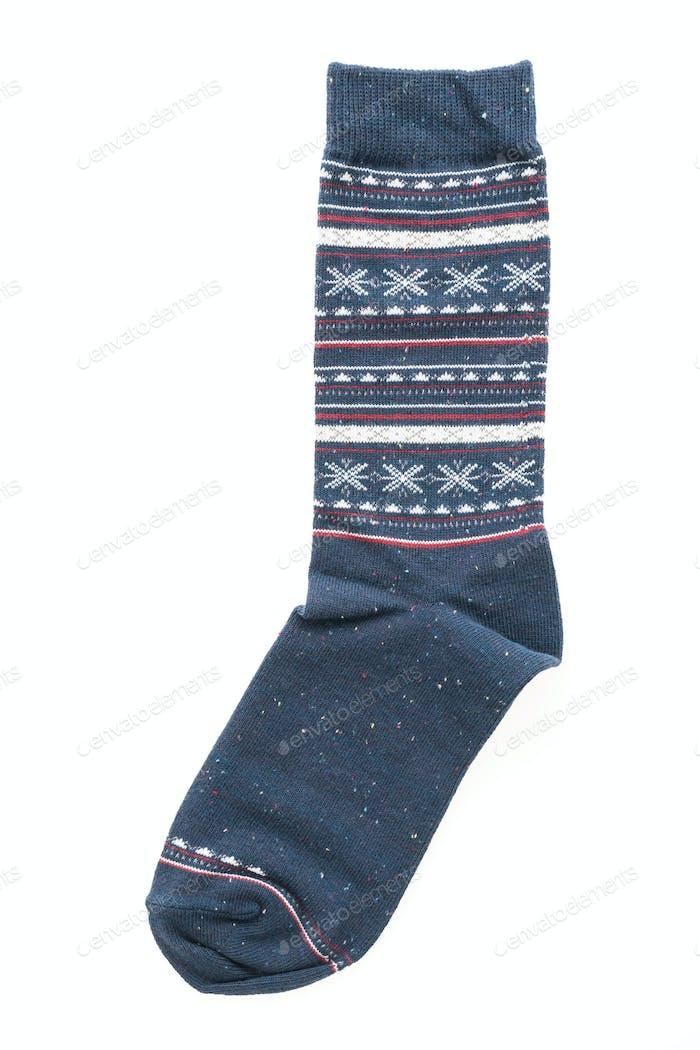Par de calcetines aislados