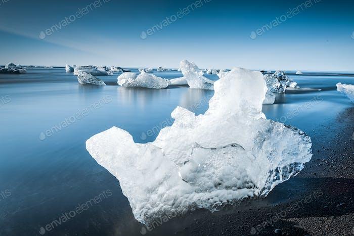 Jokulsarlon Gletscher-Lagune