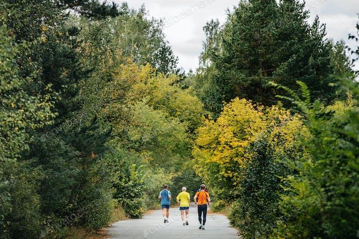 Back Three Runners