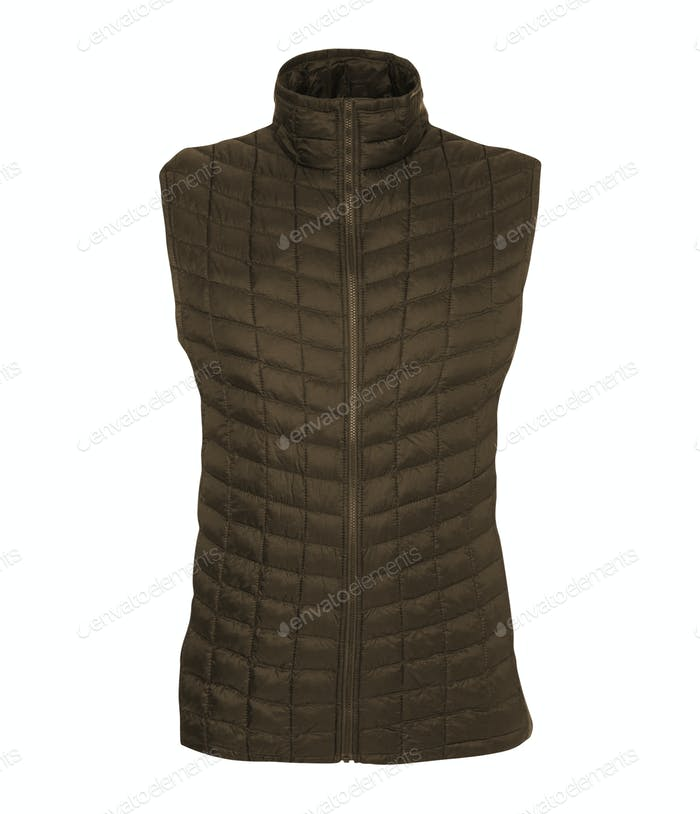 Bodywarmer isolated on white