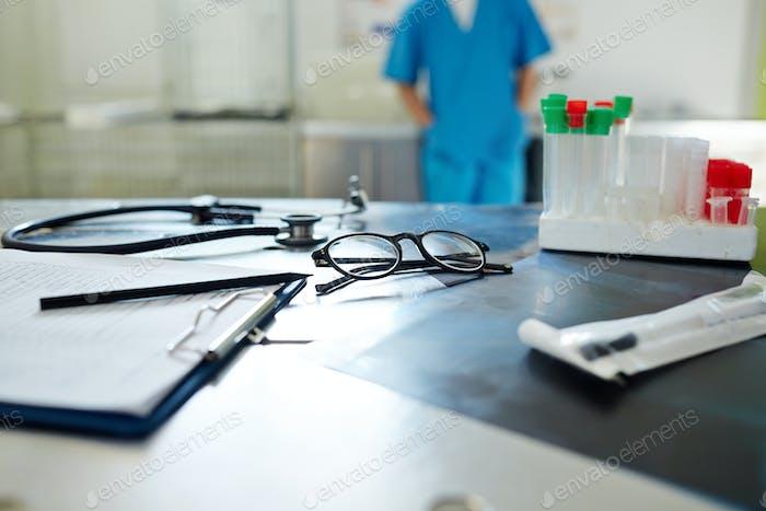 Lugar de trabajo del médico veterinario