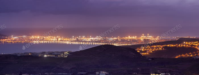 Las Palmas de Gran Canaria panorama