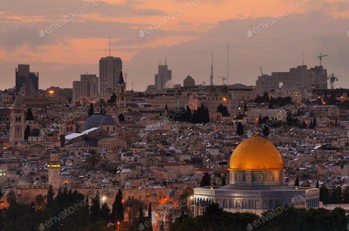 Jerusalem Skyline