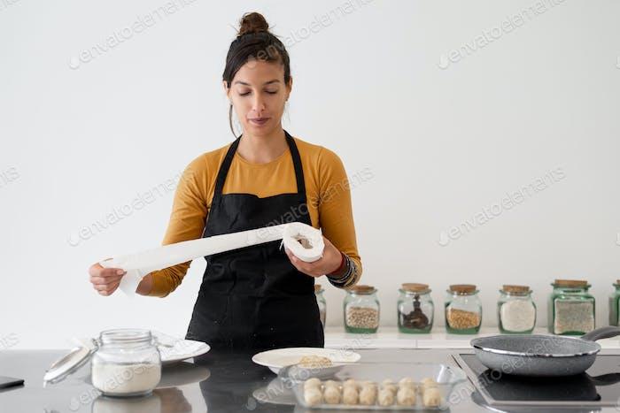 Kochen zu Hause