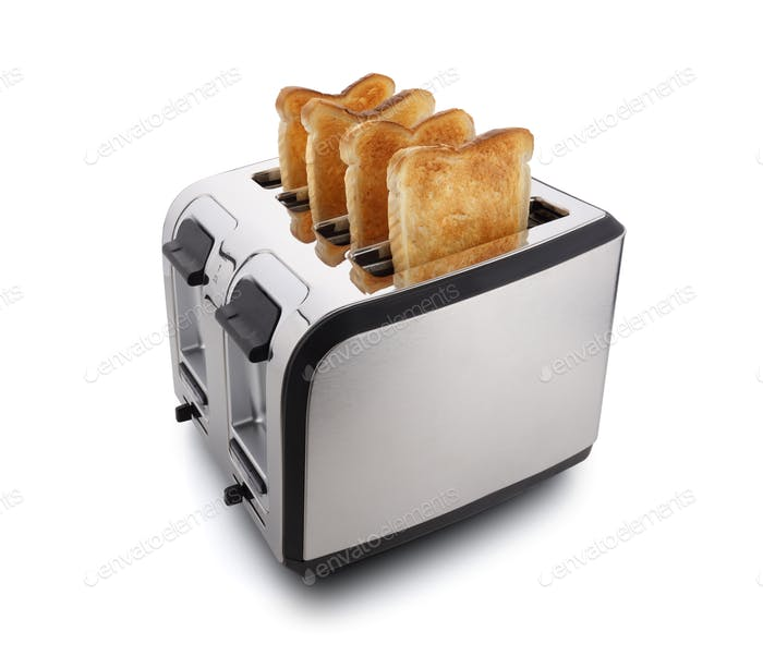New modern toaster