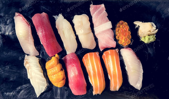 Japanese dining sushi healthy food