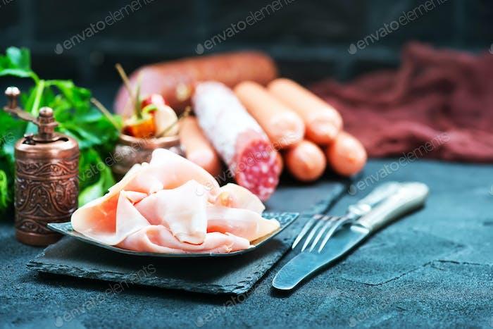mix sausages