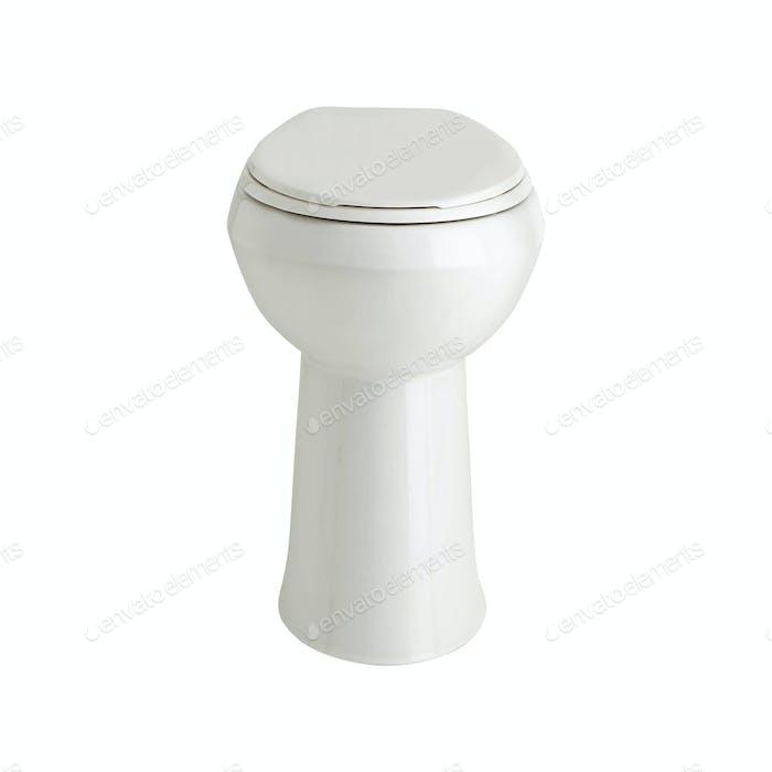 toilet bowl isolated on white background