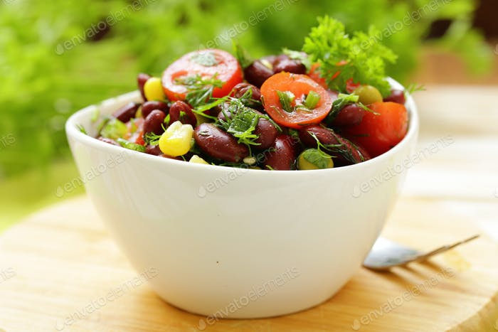 Salad of Red Beans