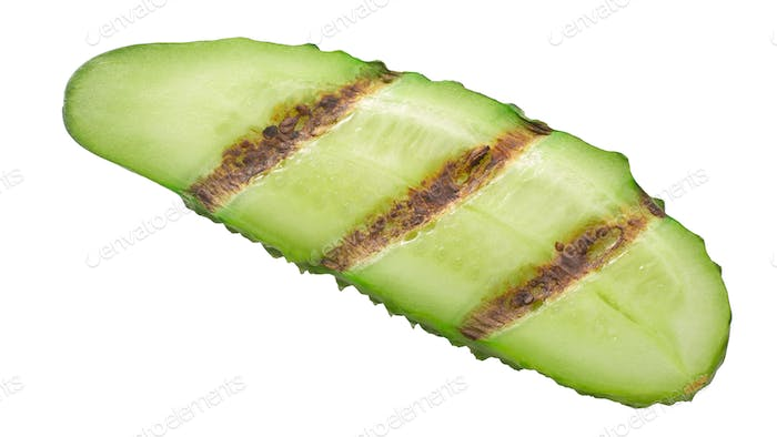 Grilled cucumber slice, paths