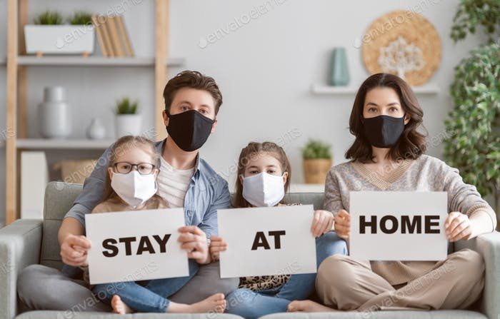 call to stay at home
