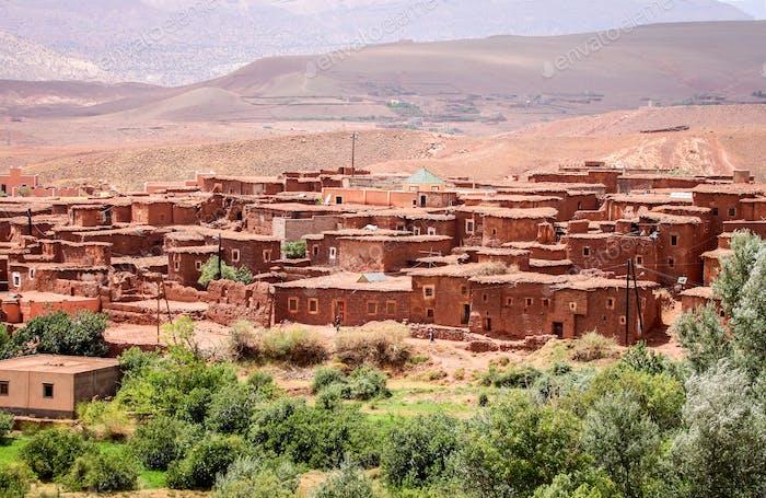 Small village Telouet